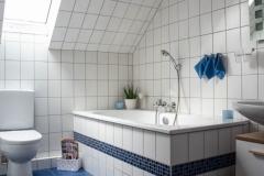 Badezimmer mit WC