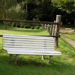 Ferienwohnung Küper - Wald und Bank