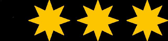 DTV Klassifizierung 3 Sterne